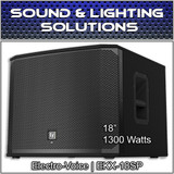 "Electro-Voice EKX-18SP Powered 18"" 1300 Watt Subwoofer EKX18SP"