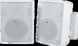 "EVID-S5.2T 5"" Cabinet 70/100V Pair (White)"