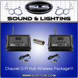 Chauvet DJ D-FI Hub 2-PACK KIT Wireless DMX Control Unit Package