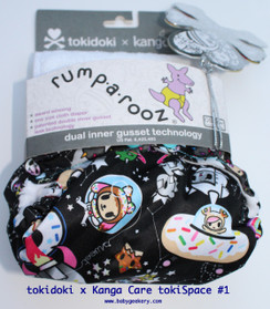 tokidoki x Kanga Care tokiSpace one size pocket diaper #1