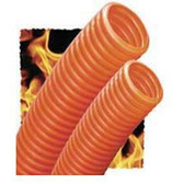"Innerduct Riser 1"" Orange With Tape in  150', coiled in Box"