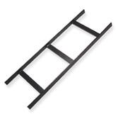 "Ladder Rack 5' x 12"" W Black, ICC"