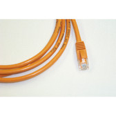UTP 3' Orange Patch Cable With Flexible Boots CAT6 568B