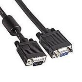 VGA Cable  50' HD15 M/F W/Ferrite (Premium)