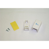 Surface Mount Box 1 Hole White