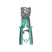 Crimp Tool, Standard RJ11 & RJ45, Ratcheted Design