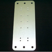 """LCD Arm Mounting Plate, Aluminum 8-3/8""""x3-1/2"""""""