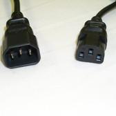 Power Cord 6' IEC 60320-C14 To IEC 60320-C13