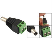 Adapter 2.1mm x 5.5mm Male CCTV Power Jack