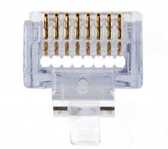 EZ-RJ45 Cat5e Connector 100/Box. work with PLA-100054C tool