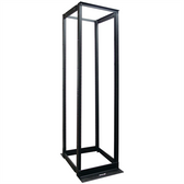 RELAY RACK, 4-POST DISTRIBUTION RACK, 7 FT