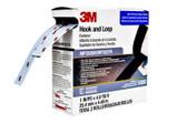 3M Fastener MP3526N/MP3527N Hook and Loop S030 Black, 1 in x 5 yd (15 Feet) 0.15 in Engaged Thickness (5 packs)