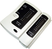 Cable Tester for RJ11 and RJ45