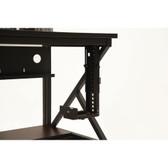 Adjustable Desktop CPU Bracket Under Desk 60 lbs. Rating