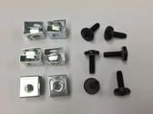 Cage Nut Slide-on + 10-32 Phillips Screws (Bag Of 20)