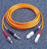 Fiber 50/125 SC/ST Multimode Duplex 1 Meter (3.28')