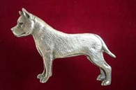 American Staffordshire Terrier Pewter Pin