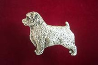Norfolk Terrier Pewter Pin