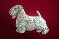 Sealyham Terrier Pewter Pin