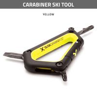 Carabiner Ski Tool - Yellow