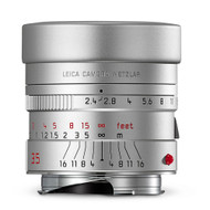 Leica Summarit-M 35mm f/2.4 ASPH Silver Anodized Finish