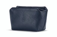 C-Lux Soft Pouch magnetic closer, size S, leather, blue