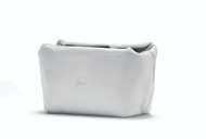C-Lux Soft Pouch magnetic closer, size S, leather, white