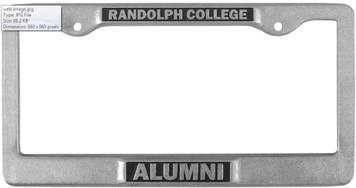 RC Alumni License Plate Frame