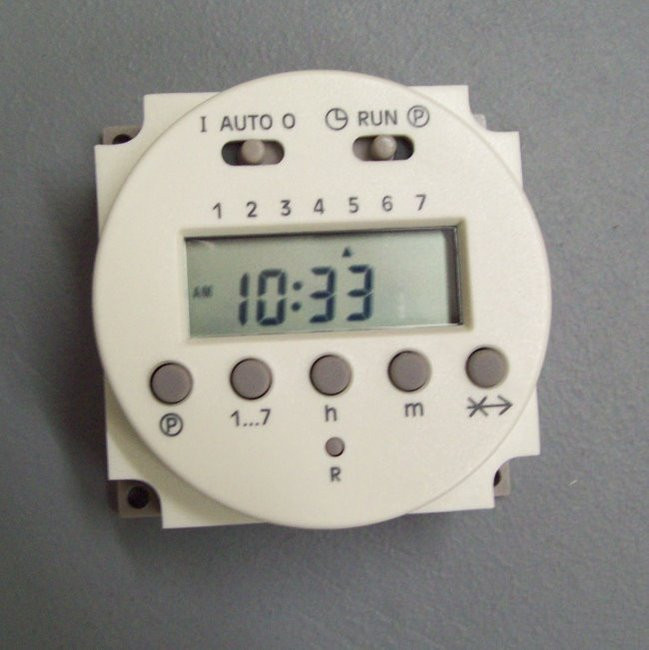 110V 120V weekly digital timer
