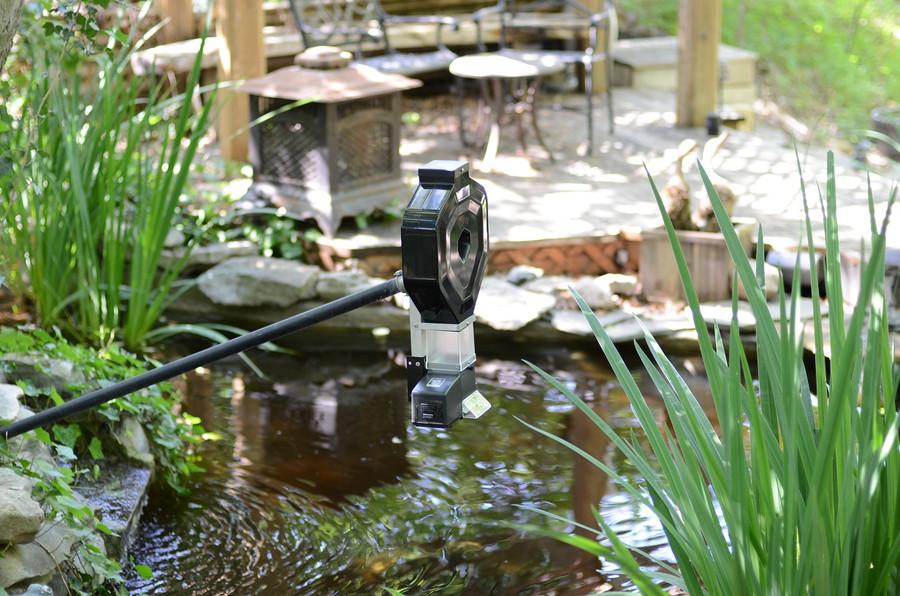 Koi pond feeder ksf 2xl basic hopper otdr transformer for Koi pond basics