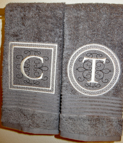 Great for decorating towels!