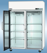 Nor-Lake NSXF482WWG-0 Glass Door Low Temperature Freezer -25°C