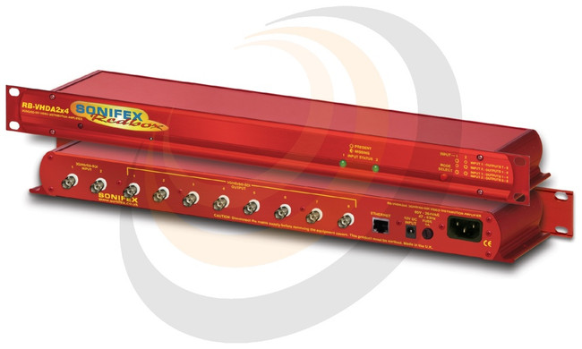 3G/HD/SD-SDI 2 Input, 8 Output Video Distribution Amplifier - Image 1