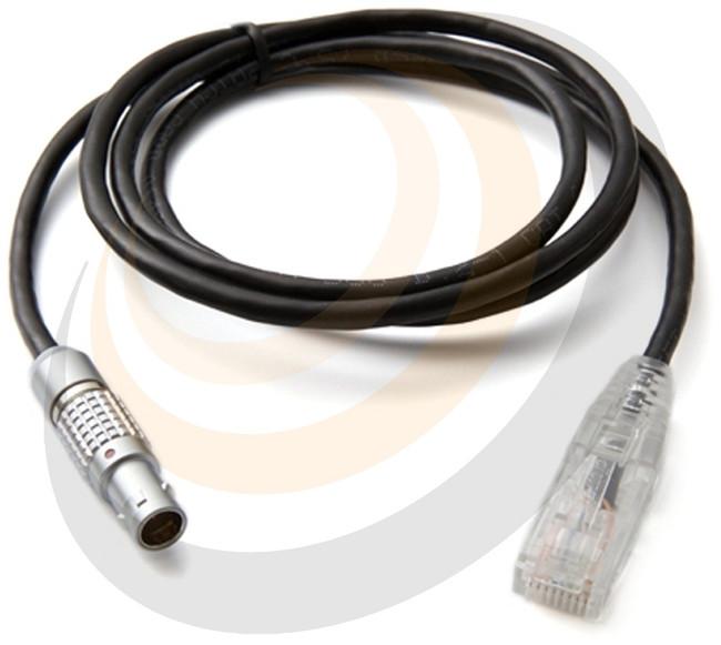 ARRI 10 pin Lemo to CAT5E 18 Inch Cable - Image 1