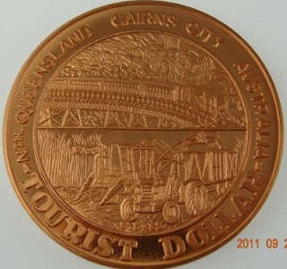 Cairns Tourist Dollar Reverse