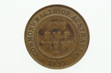 1935 Half Penny George V in Extremely Fine Condition Reverse