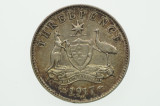 1917 Threepence George V in Very Fine Condition Reverse