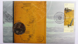 1998 50 Cents Bass and Flinders Commemorative Philatelic Numismatic Cover