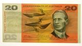 Commonwealth of Australia 1968 Twenty Dollars Phillips / Randall Banknote in Very Fine Condition