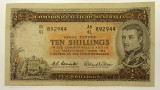 1961 Ten Shillings Coombs / Wilson Banknote In Very Fine Condition