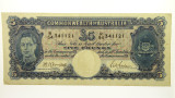 1941 Five Pounds Armitage / McFarlane Banknote in Very Fine Condition