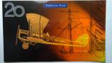 1998 Twenty Dollars Macfarlane / Evans Polymer Issue Vertical Pair Banknotes