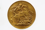 1916 Perth Mint Gold Full Sovereign in Very Fine Condition
