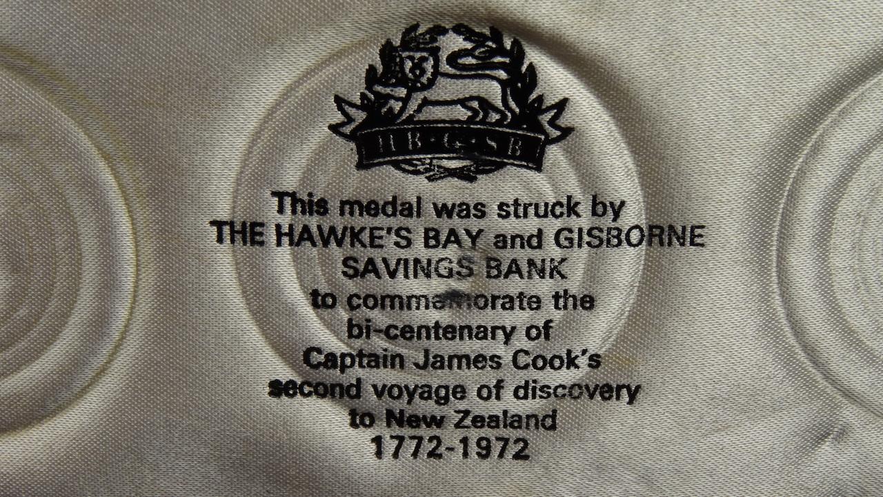 Captain James Cook's 2nd Voyage Gold, Silver and Bronze Medal Set Information
