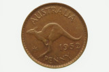 1952 Penny George VI in Uncirculated Condition Reverse