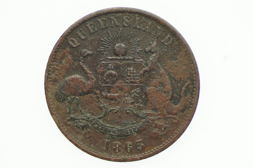 Mulligan, DT Penny Token in Very Fine Condition Reverse