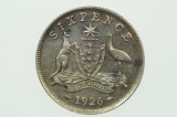 1926 Sixpence George V in Very Fine Condition