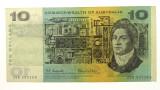 1966 Ten Dollars Star Replacement First Prefix Coombs/Wilson Banknote