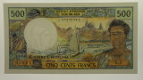 Tahiti 1977 Five Hundred Francs Claude Panouillot/Marcel Theron Banknote