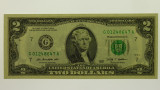 USA 2009 Two Dollars Chicago Federal Reserve Banknote